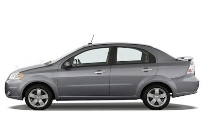 Chevrolet Aveo Side View (Left)  Image