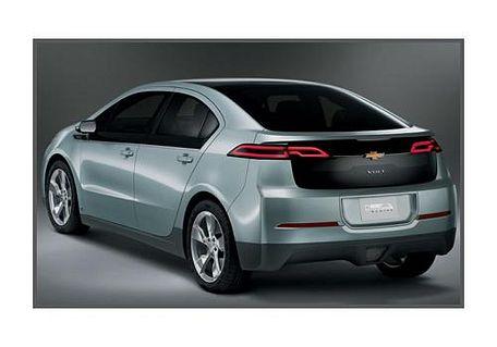 Chevrolet Volt Rear Left View Image