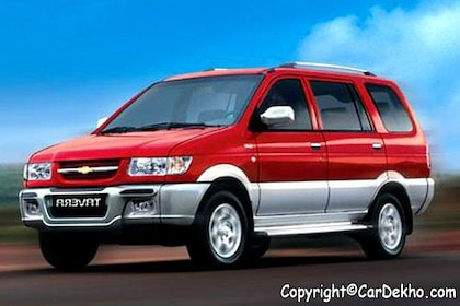 Chevrolet Tavera 2003-2007 Front Left Side Image