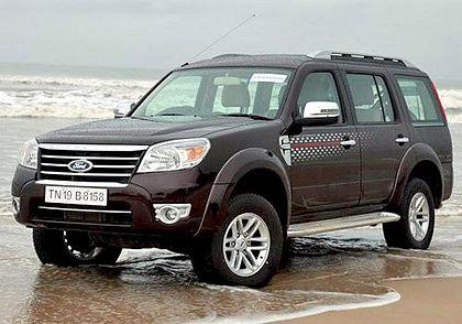 Ford Endeavour 2003-2007 Front Left Side Image