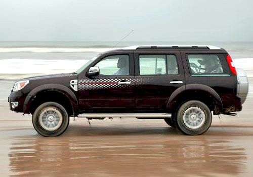 Ford Endeavour 2003-2007 Side View (Left)  Image