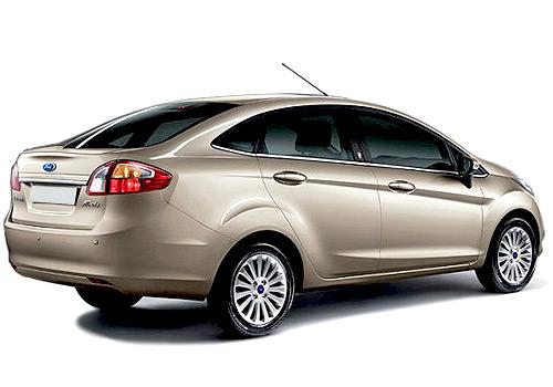 Ford Fiesta 2011-2013 Rear Left View Image