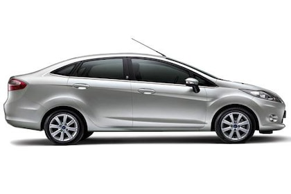 Ford Fiesta 2011-2013 Side View (Left)  Image