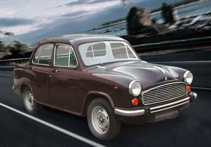 Hindustan Motors Ambassador Front Left Side Image