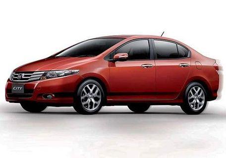 Honda City 2008-2011 Front Left Side Image