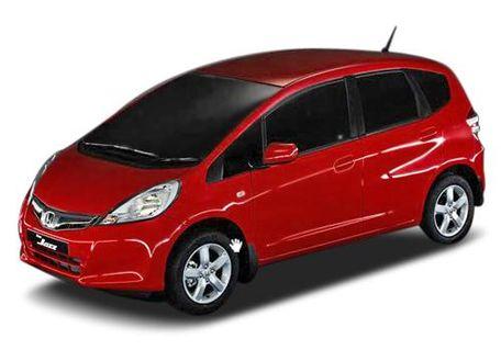 Honda Jazz 2009-2011 Front Left Side Image
