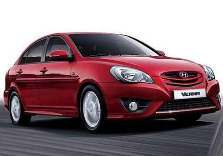 Hyundai Verna 2010-2011 Front Left Side Image