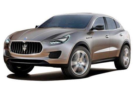 Maserati Kubang Front Left Side Image