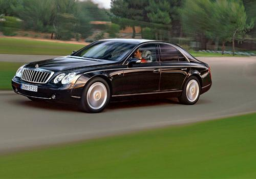 Maybach 57 S Front Left Side Image