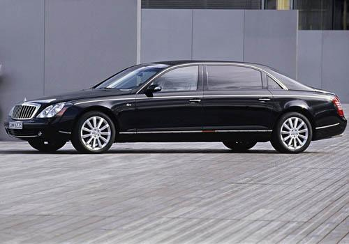 Maybach 62 S Front Left Side Image