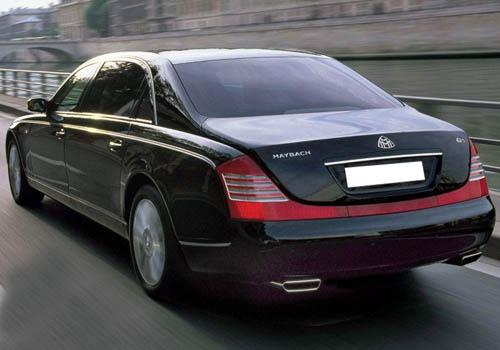 Maybach 62 S Rear Left View Image