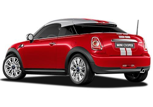 Mini Cooper Coupe Rear Left View Image