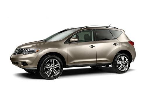 Nissan Murano Front Left Side Image