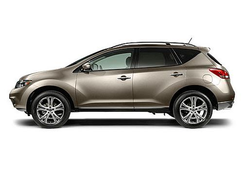 Nissan Murano Side View (Left)  Image