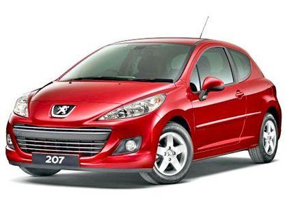 Peugeot 207 Front Left Side Image