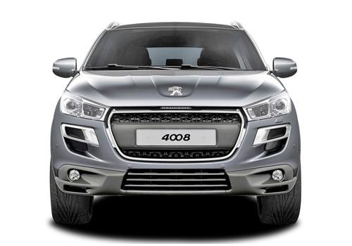 Peugeot 4008 Front View Image