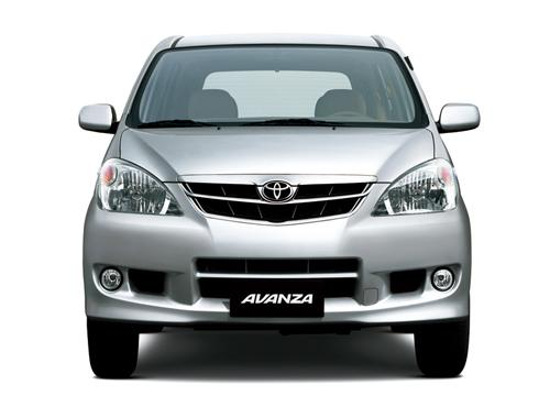 Toyota Avanza Front View Image