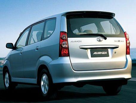 Toyota Avanza Rear Left View Image