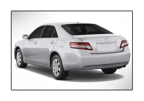 Toyota Camry 2002-2011 Rear Left View Image