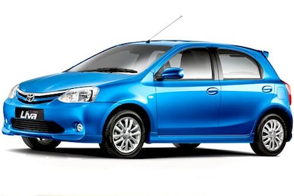 Toyota Etios 2010 2012 Front Left Side Image