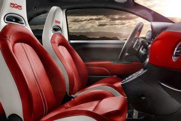 Fiat 500 Front Seats (Passenger View)