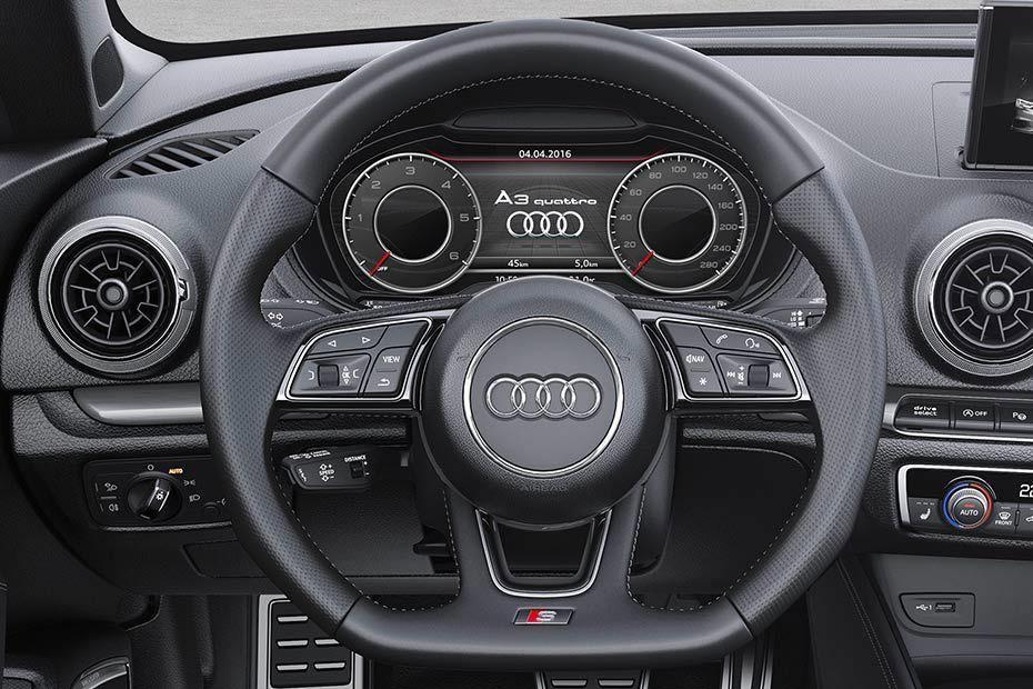 Audi A3 cabriolet Steering Wheel Image