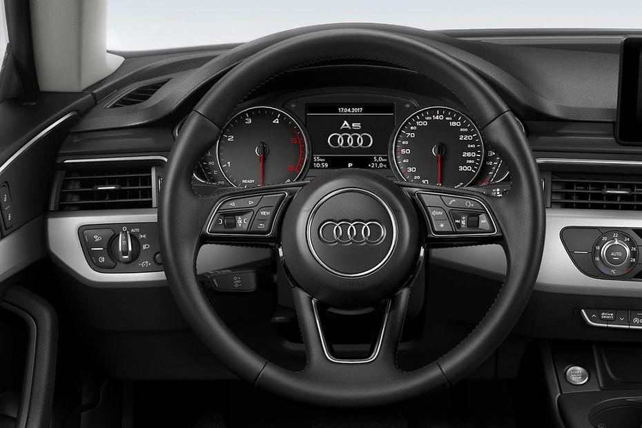 Audi A5 Steering Wheel Image