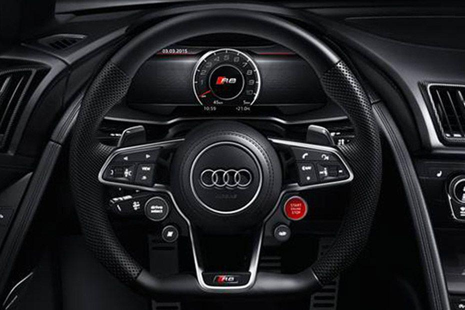 Audi R8 Steering Wheel Image