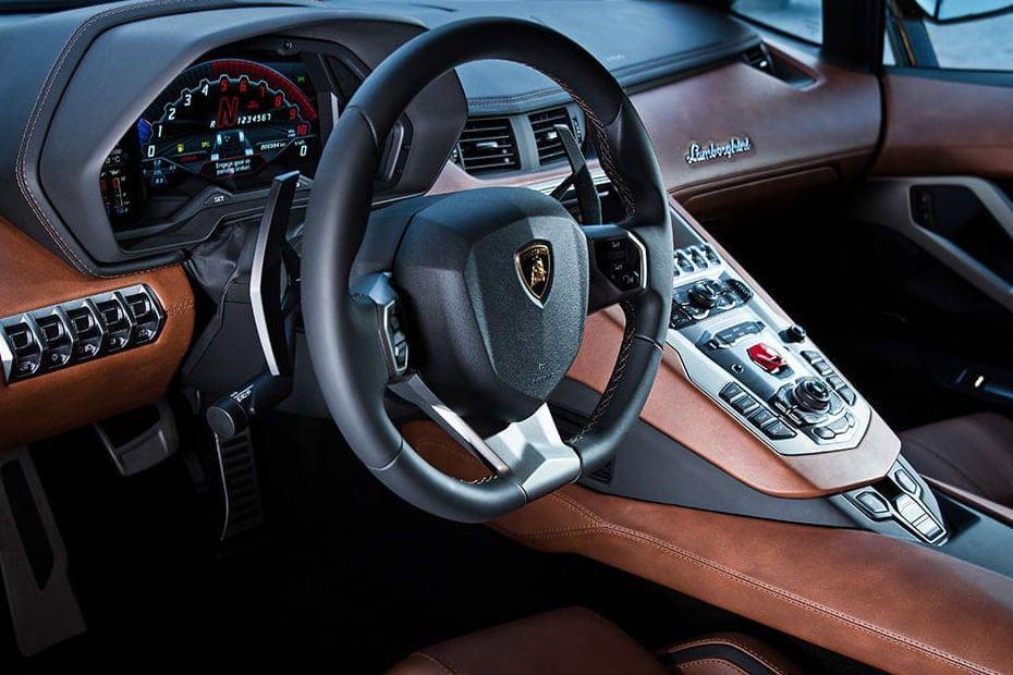 Lamborghini Aventador Steering Wheel Image