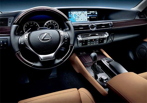 Lexus GS DashBoard Image