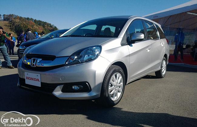 Honda Mobilio Preview
