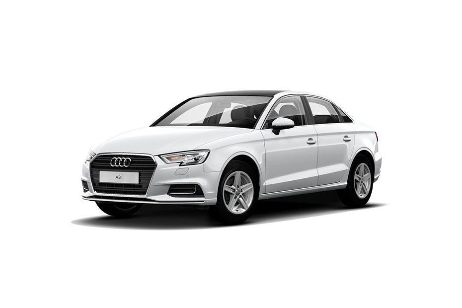 Audi A3Glacier white Metallic Color