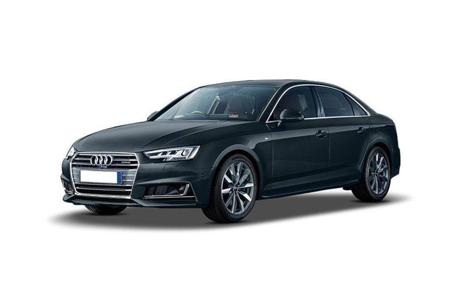 Audi A4Moonshine Blue Color