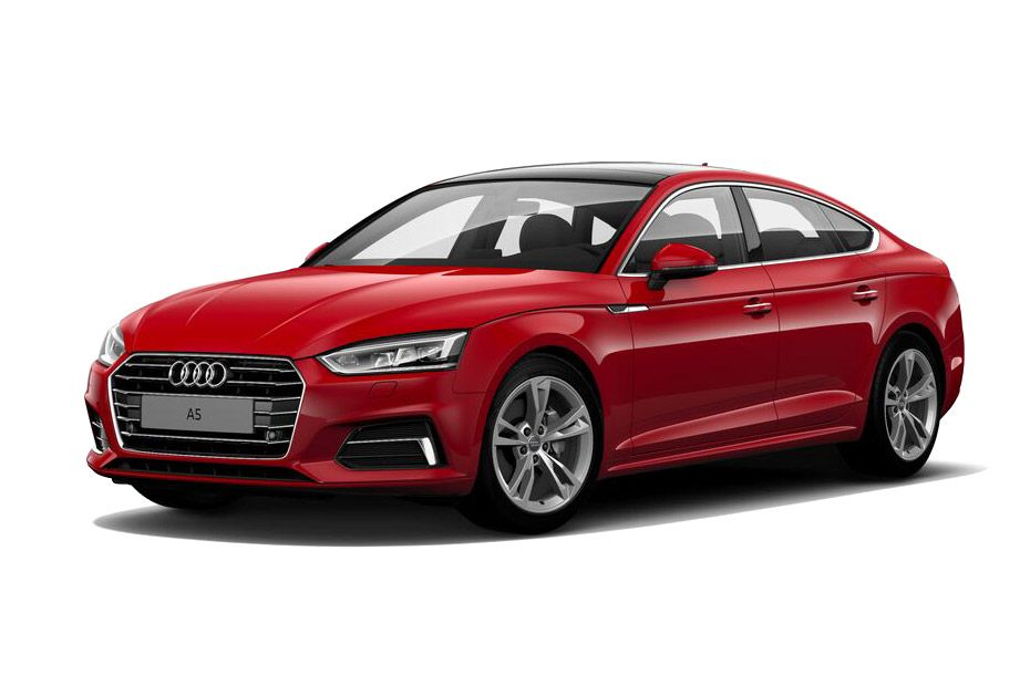 Audi A5Tango red metallic Color