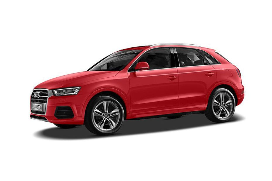 Audi Q3Misano Red Color