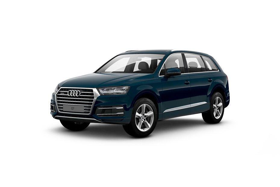 Audi Q7Galaxy-Blue-Metallic Color