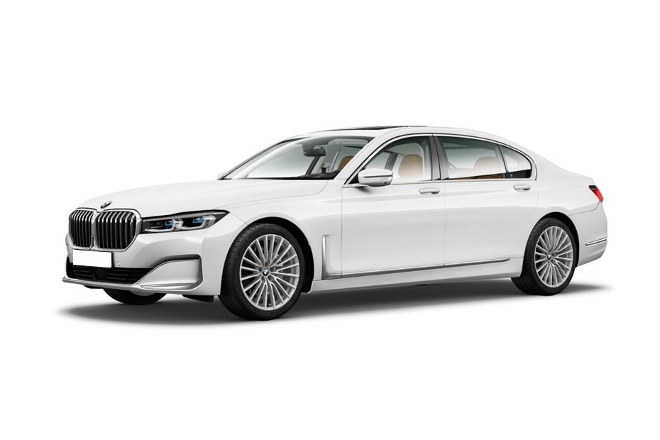 BMW 7 SeriesAlpine White Color