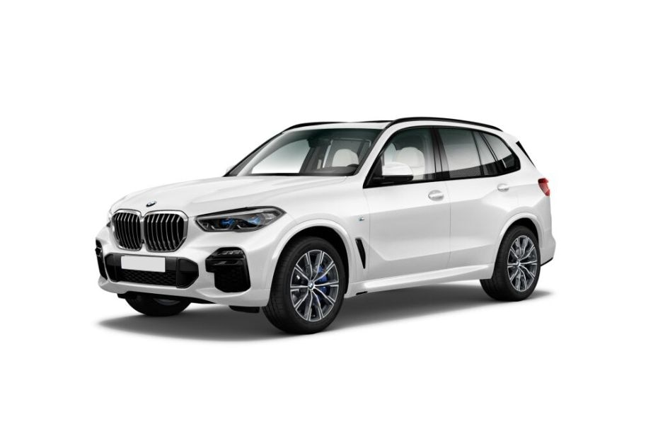 BMW X5Mineral White Color