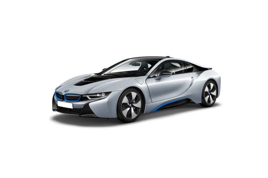 BMW i8Ionic Silver Color