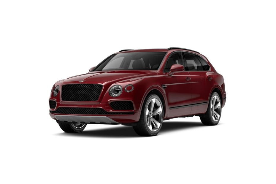 Bentley BentaygaVolcanic Fire Color