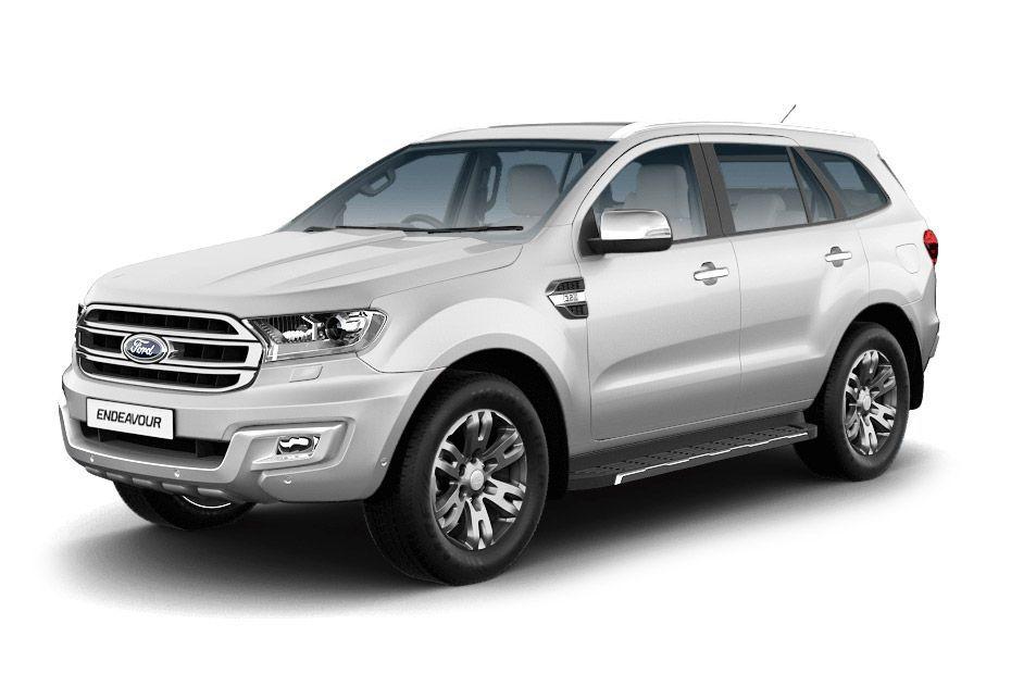 Ford EndeavourDiamond White Color