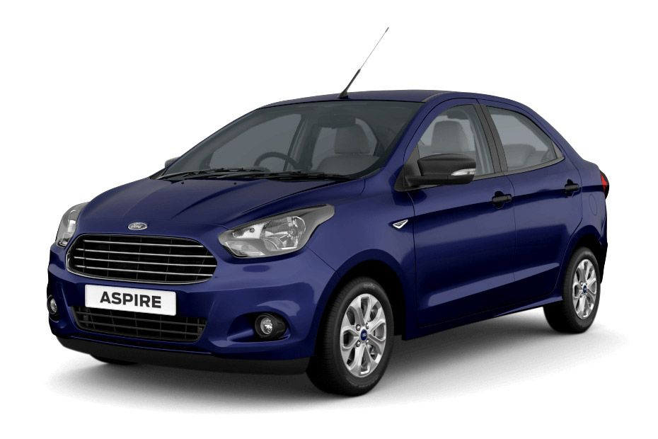 Ford AspireDeep Impact Blue Color
