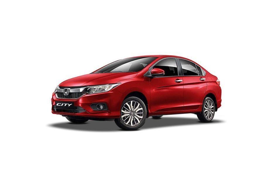 Honda CityRediant Red Metallic Color