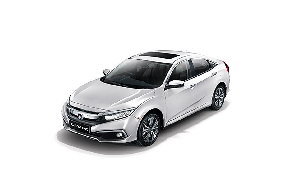 Honda CivicPLATINUM WHITE PEARL Color