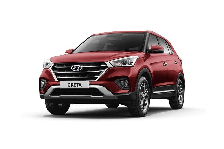Hyundai CretaFiery Red Color