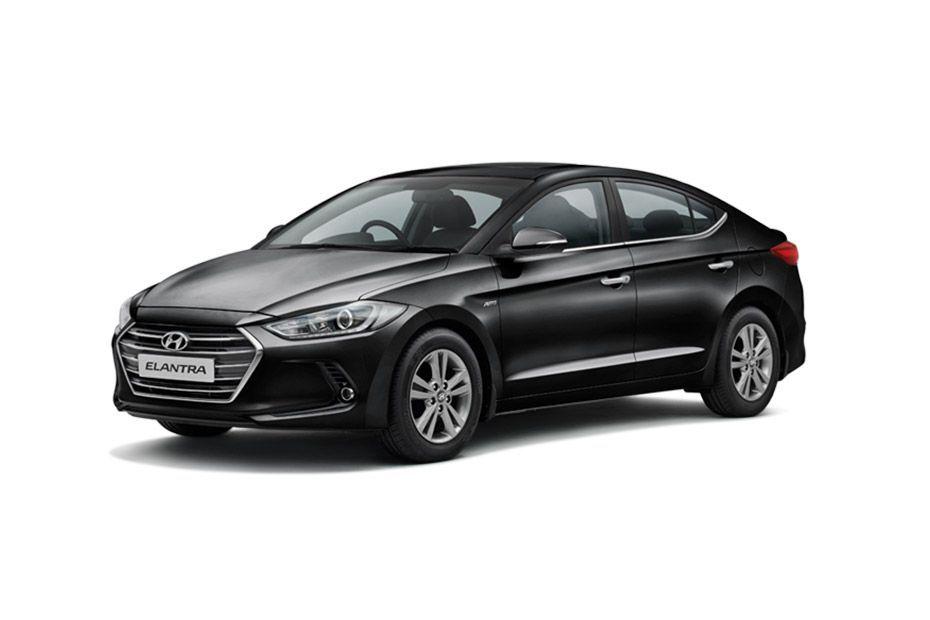 Hyundai ElantraPhantom Black Color