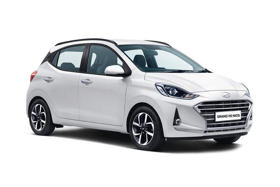 Hyundai Grand i10 NiosTyphoon White Color