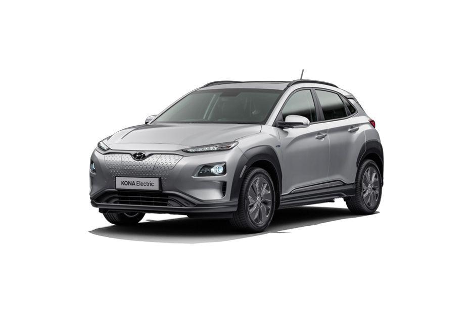 Hyundai Kona ElectricTyphoon Silver Color