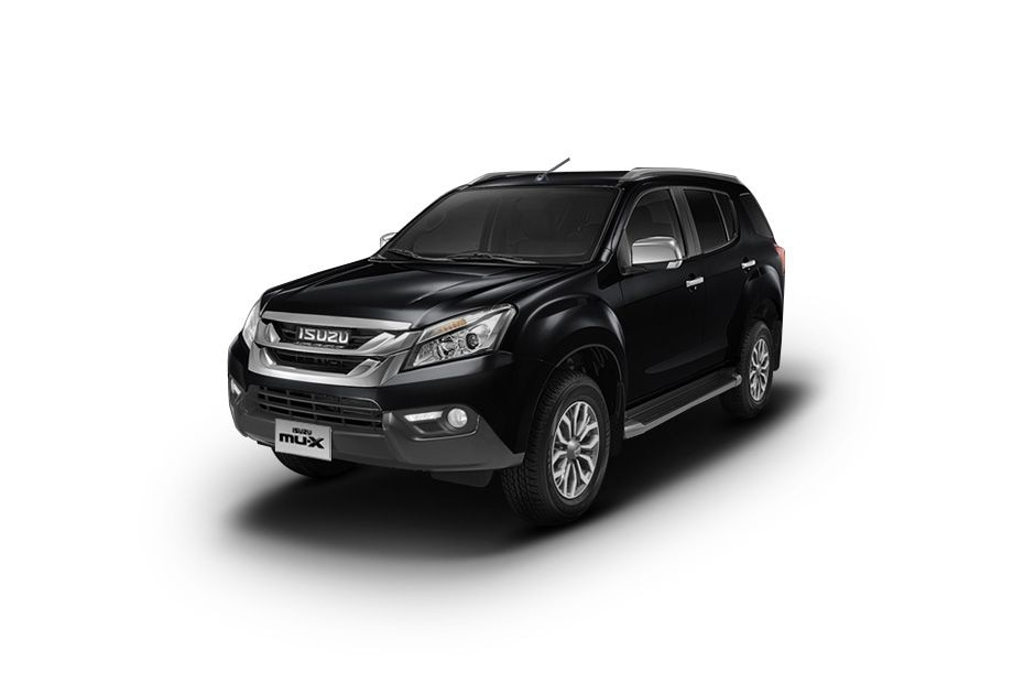 ISUZU MUXCosmic Black Color