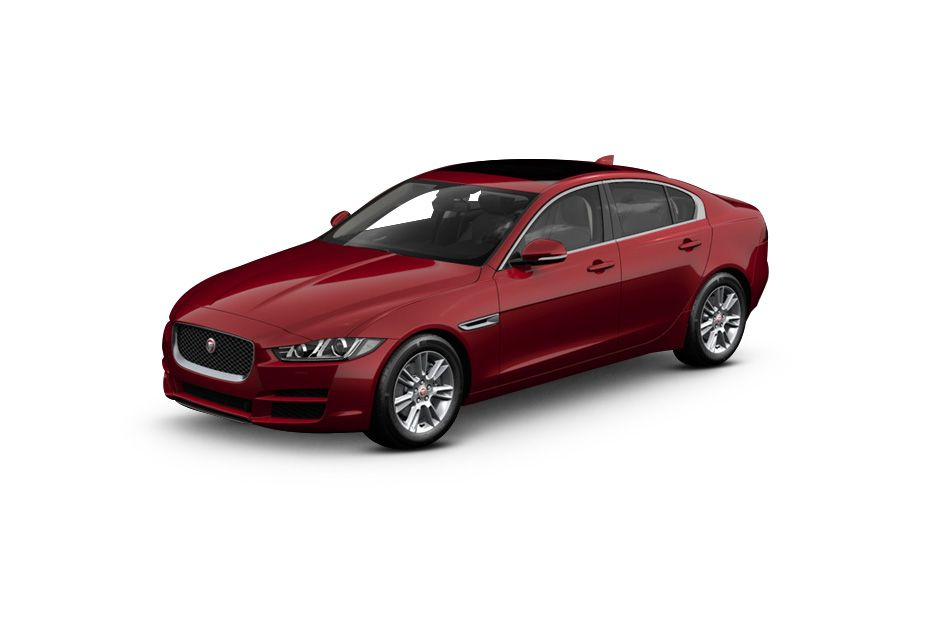 Jaguar XEFirenze Red Color